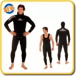 Beuchat Wetsuit - Mundial Elaskin - 5.5mm - LONGJOHN PANTS ONLY