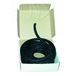Sporasub Latex Tubing - 17mm - Black (per metre)