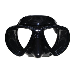 Riffe Mask - Nekton - Black Silicone - Clear or Amber lens