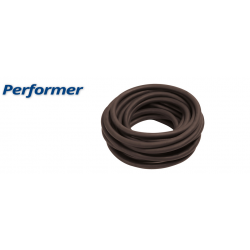 Omer Latex Tubing - 16mm - Brown (PERFORMER) (per metre)