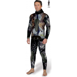Omer Wetsuit - MIX3D Camo - 5.0mm - Jacket & Longjohn
