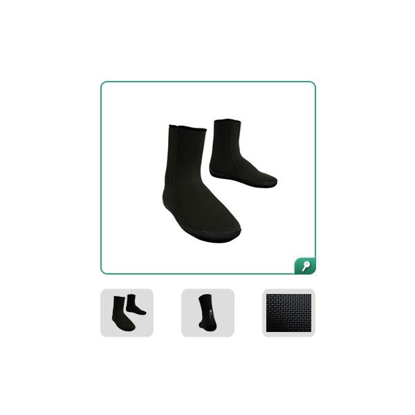 Esclapez Booties/Socks - Caranx 7mm