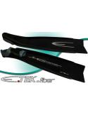 Esclapez Fins - Full Foot - E-Tek Fibre - Black