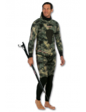 Imersion Wetsuit - Seriole Camo - Super Stretch 7mm (Jacket + Long-John Pant)