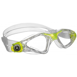 Aquasphere Kayenne Junior swim goggles - Trans/Lime