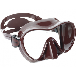 Cressi Mask - F1 Frameless - Brown