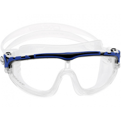 Cressi Skylight Swim Mask - Clear/Black/Blue