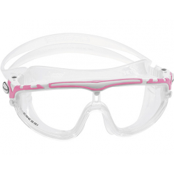 Cressi Skylight Swim Mask - Clear/White/Pink