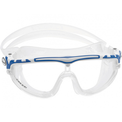 Cressi Skylight Swim Mask - Clear/White/Blue