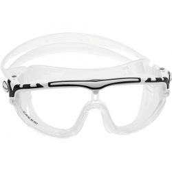 Cressi Skylight Swim Mask - Clear/White/Black