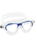 Cressi Cobra Swim Goggle - Clear/Blue
