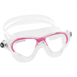 Cressi Cobra Swim Mask - Lady - Clear/Pink