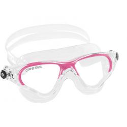 Cressi Cobra Swim Goggle - Lady - Clear/Pink