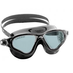 Cressi Cobra Swim Goggle - Black/Smoked lenses