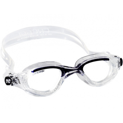 Cressi Flash Swim Goggle - Clear/Blue