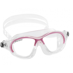 Cressi Cobra Kid Swim Mask - Clear/Pink