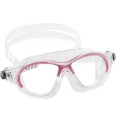 Cressi Cobra Kid Swim Goggle - Clear/Pink