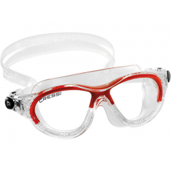 Cressi Cobra Kid Swim Goggle - Clear/Red