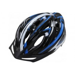 Apex Helmet 1330 - Black/Blue 54/58cm