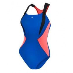 Aquasphere Swimsuit - Siskin - Navy Blue/Dark Pink
