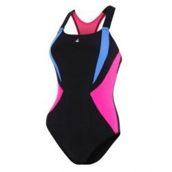 Aquasphere Swimsuit - Siskin - Black/Dark Pink