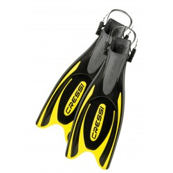 Cressi Fins - Frog Plus - Black Yellow