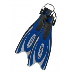 Cressi Fins - Frog Plus - Blue Silver