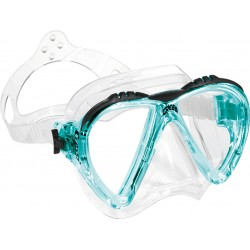 Cressi Mask - Lince - Clear Silicone - Aquamarine Frame