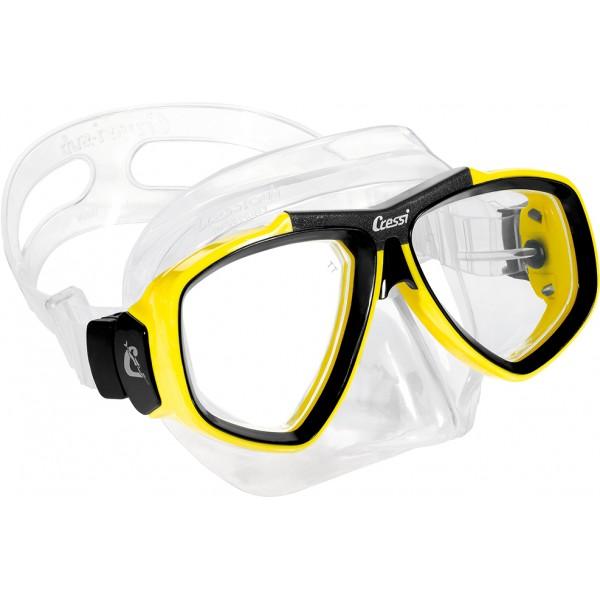 Cressi Mask - Focus - Yellow