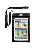 Swim Cell Waterproof Case - Small Tablet - Black