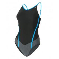 Aquasphere Swimsuit - Muriel - Black/Black