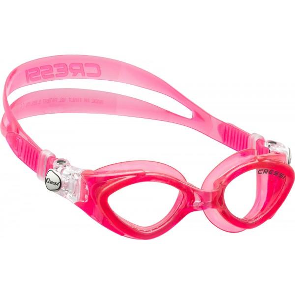 Cressi King Crab Kid Swim Goggle - Pink