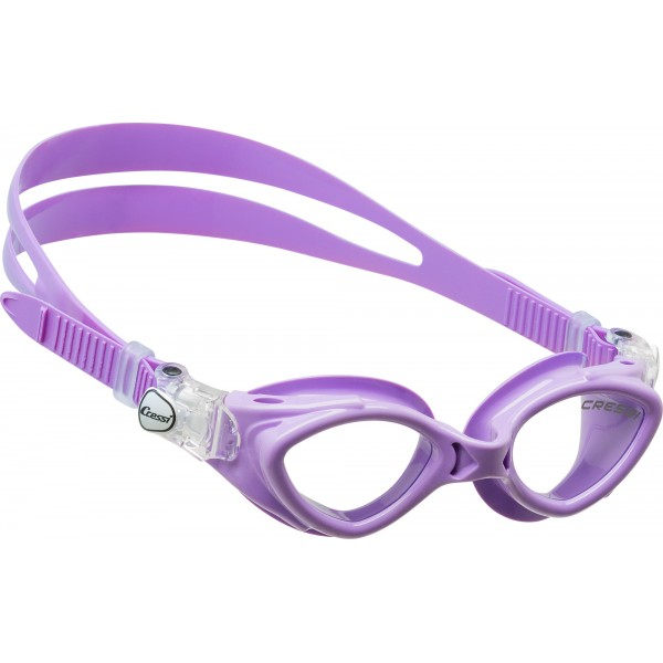 Cressi King Crab Kid Swim Goggle - Lilac