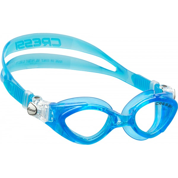 Cressi King Crab Kid Swim Goggle - Azure