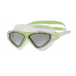 Zoggs Swimming Mask - Tri-Vision - Green/Clear/Smoke