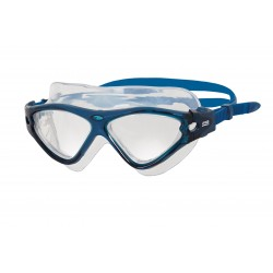Zoggs Swimming Mask - Tri-Vision - Blue/Blue/Clear