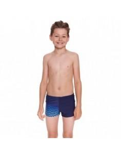 Zoggs - Junior Boys - Chevron Hip Racer - Navy/Blue