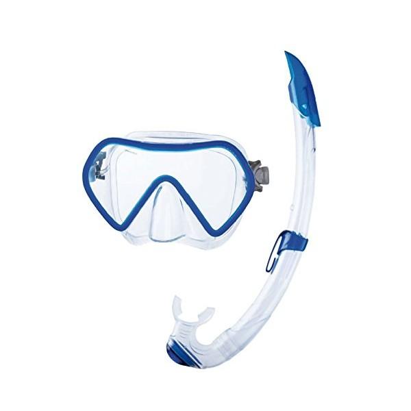 Seac Mask & Snorkel Set - Zenith - Blue