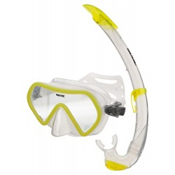Seac Mask & Snorkel Set - Zenith - Yellow
