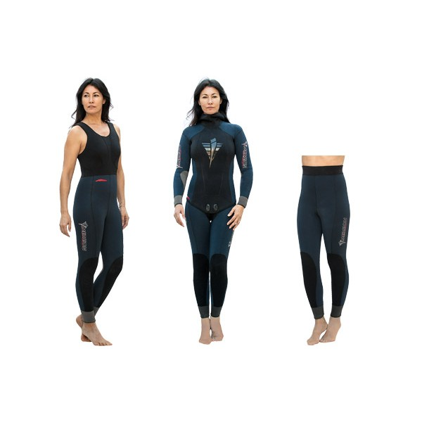 Imersion Wetsuit - Ewe Woman - 5.0mm (Jacket + Longjohn)