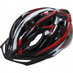 Apex Helmet L330 - Black/Red 54/58cm