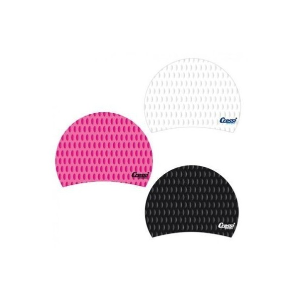 Cressi Lady Silicone Swim Cap - Various Colours