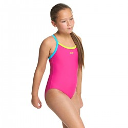 Zoggs - Swimsuit - Junior - Kerrawa Strikeback - Pink/Blue