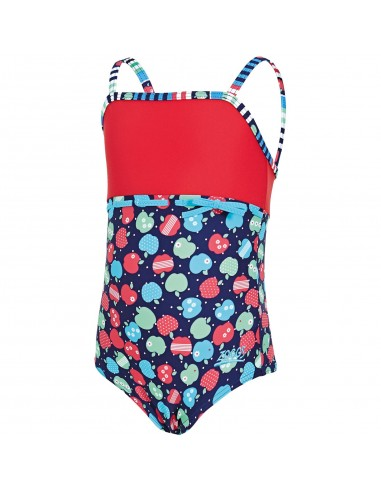 Zoggs - Swimsuit - Kids - Appletizer Classic Back - Multi/Red