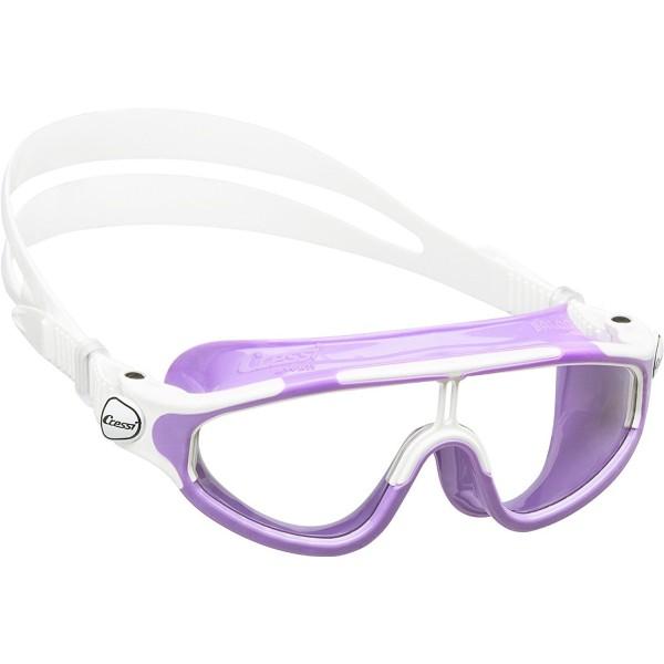 Cressi Baloo Junior Swim Goggle - Lilac/White