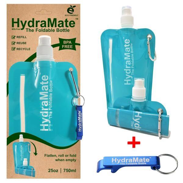 Hydromate Foldable Bottle - Various colours