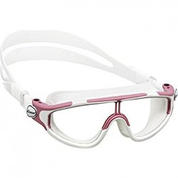 Cressi Baloo Junior Swim Goggle - Pink/White