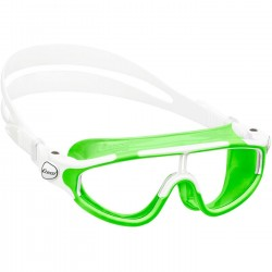 Cressi Baloo Junior Swim Goggle - Lime/White