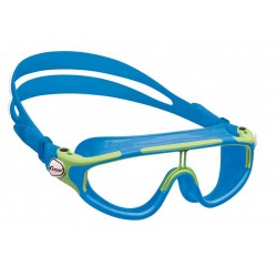 Cressi Baloo Junior Swim Goggle - Blue Light/Lime-White