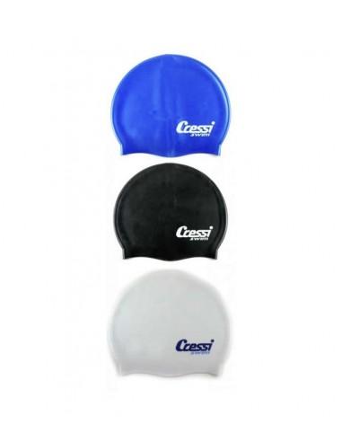 Cressi Silicone Swim Cap - Adult - Various Colours
